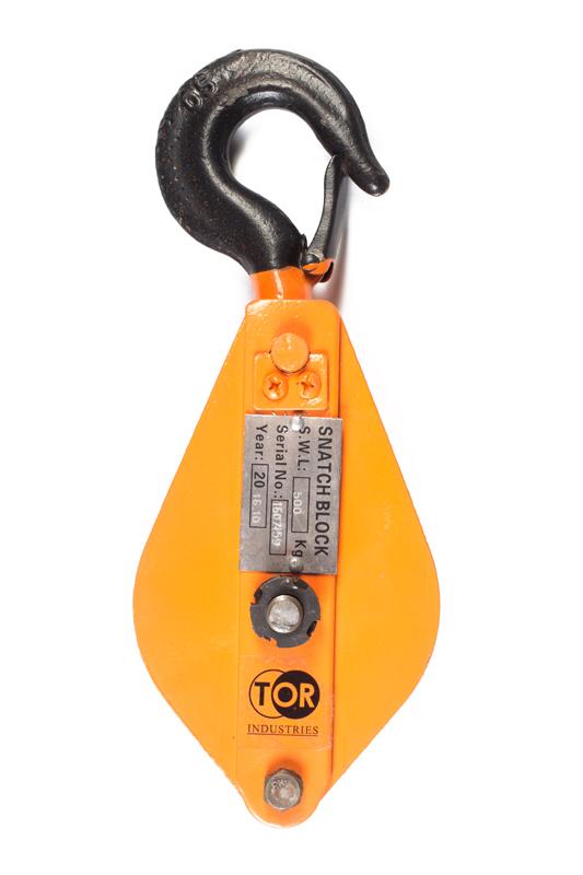Фото товара Блок монтажный с крюком TOR HQG(L) K1-0,5 Т