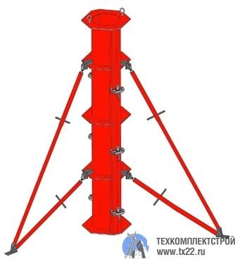 Фото товара Металлическая опалубка круглых колонн