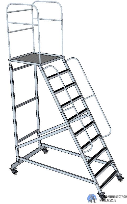 Фото товара Лестница с площадкой ЛCА