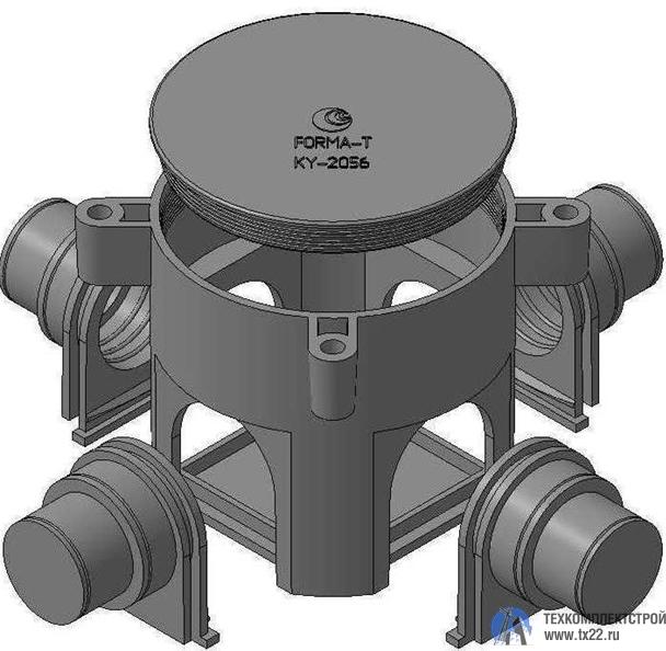 Фото товара Коробка установочная КУ-2056 для заливки в бетон